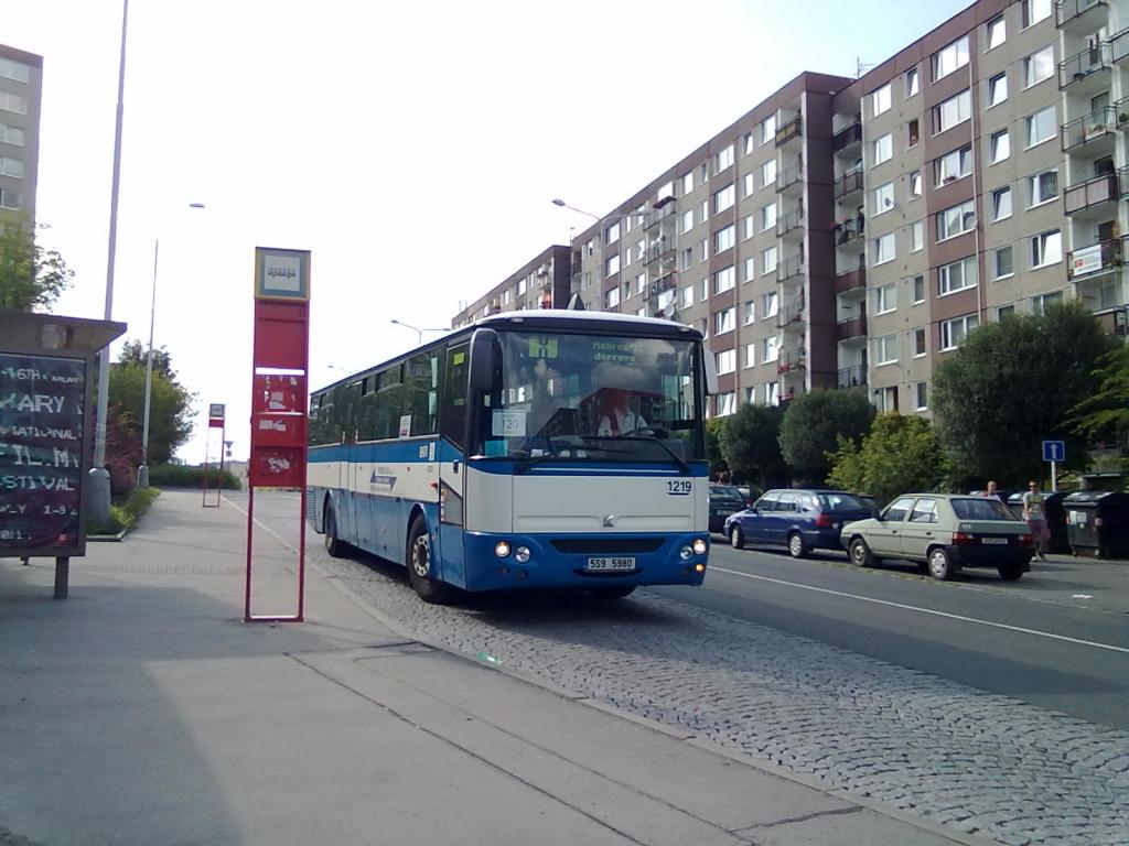 120 Karosa Axer C 956 PROBO Chaplinovo náměstí