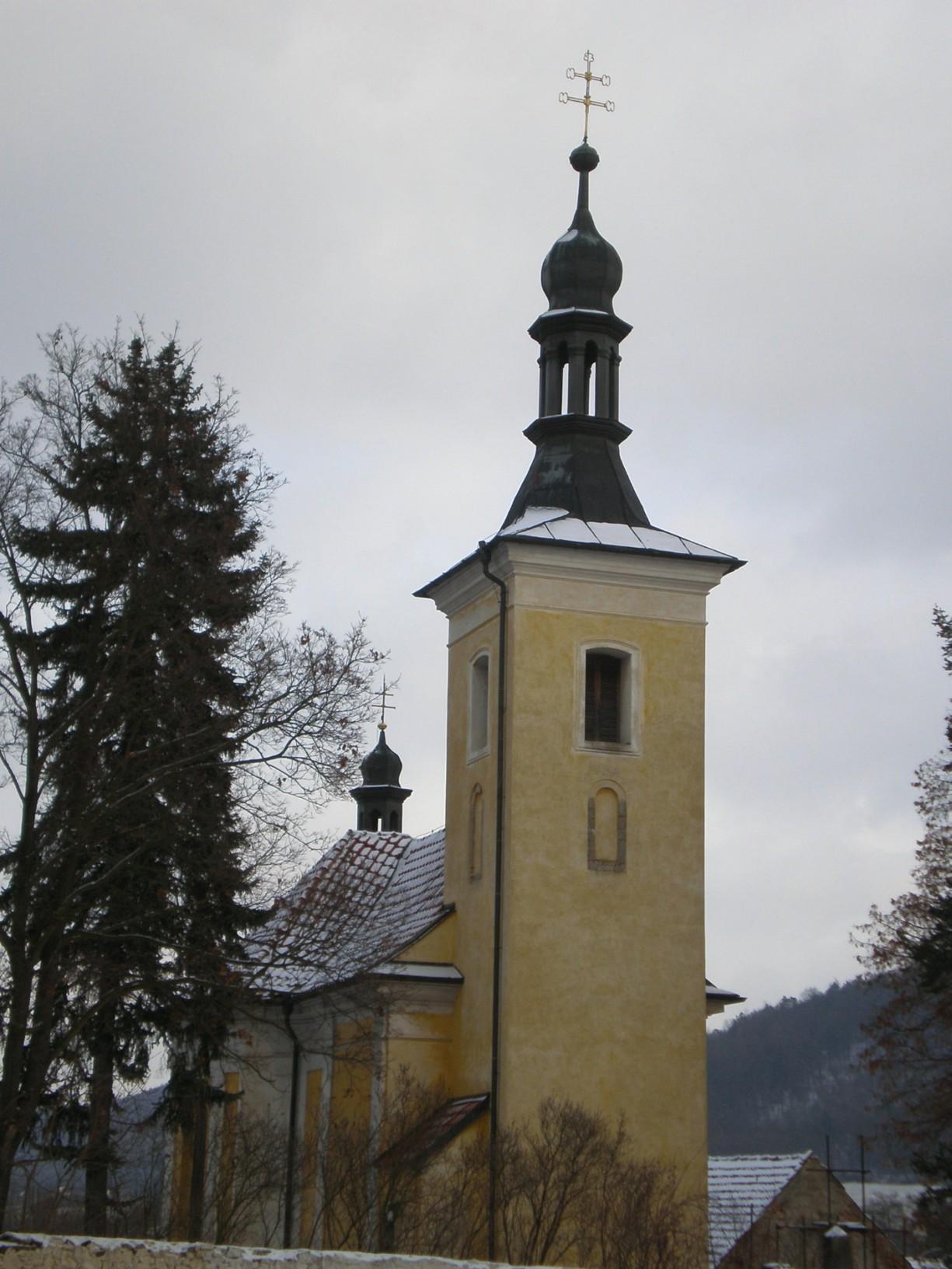 383 - Loděnice - kostel svVáclava