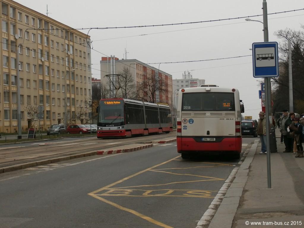 linka 108 a 1 Petřiny DPP SOR BN 8,5