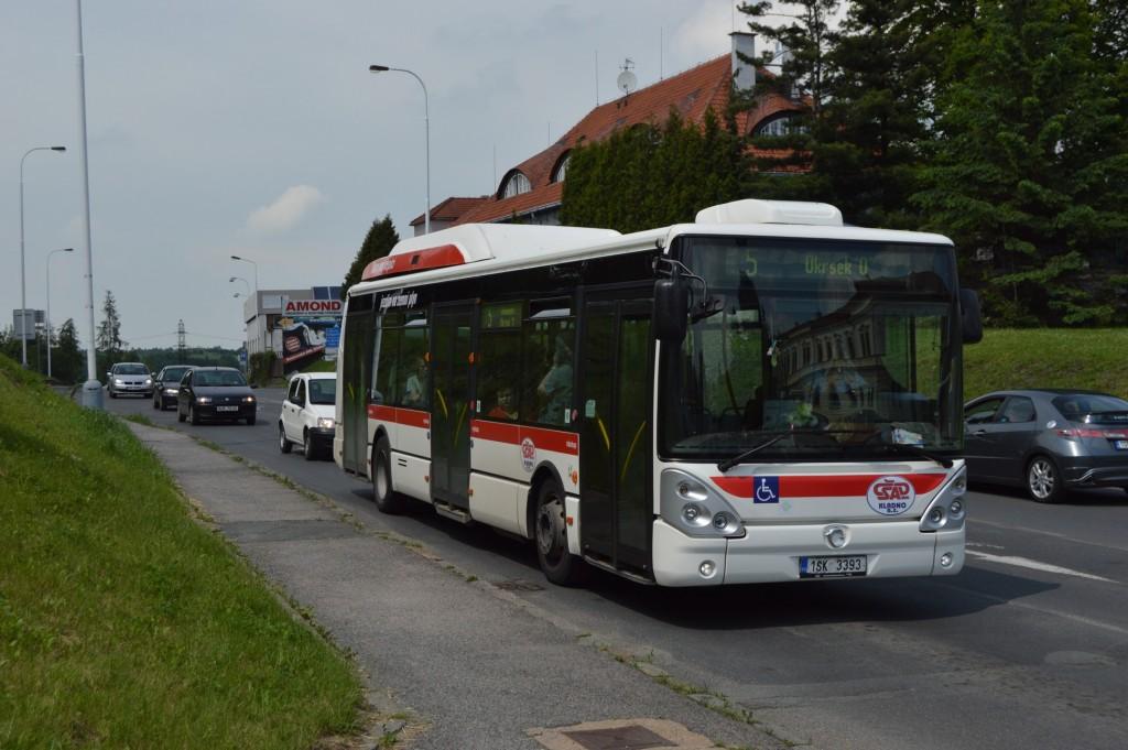 linka-5-Kladno,Aut. nádraží-ČSAD MHD Kladno-Irisbus Citelis 12M CNG 1SK 3393