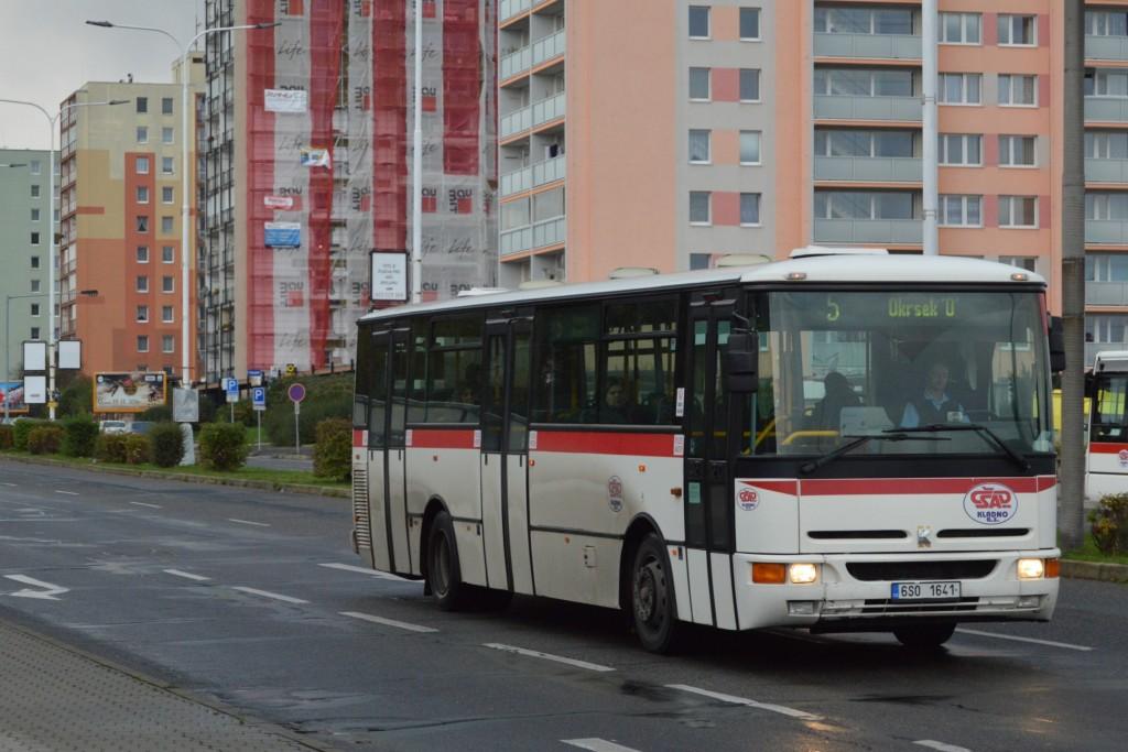 linka-5-Kladno,Nám. Svobody-ČSAD MHD Kladno-Karosa B952E 6S0 1641