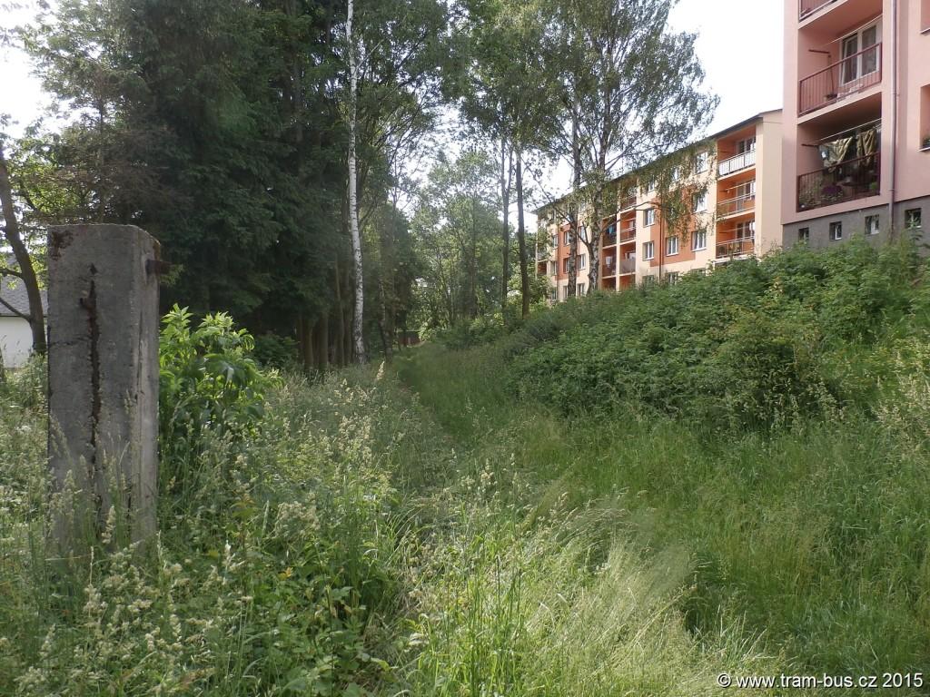 039 - pozůstatek zrušené trati Strausbergovy železnice
