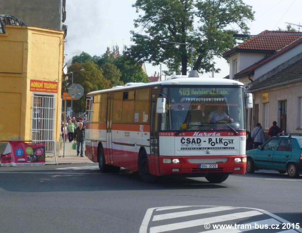 067 - linka 230409 Český Brod,,žel.st. ČSAD Polkost Karosa C 954 1626