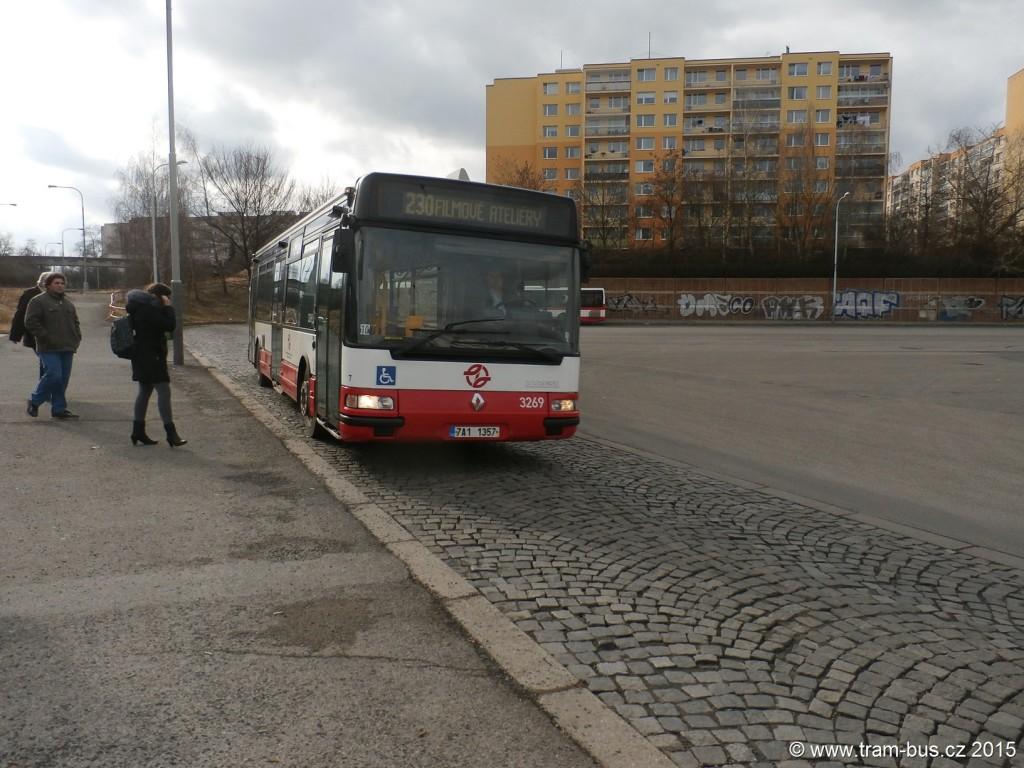 3380 - linka 230 Sídliště Stodůlky DPP Irisbus Citelis 12M 3269