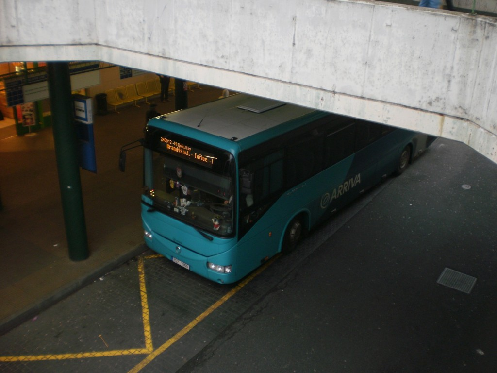 2 - Autobus linky 260812 na Černém Mostě
