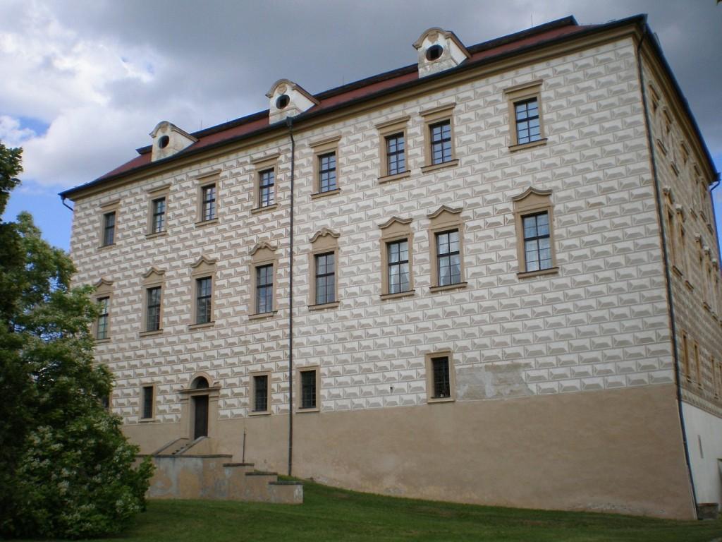 A - Benátky nad Jizerou - zámek