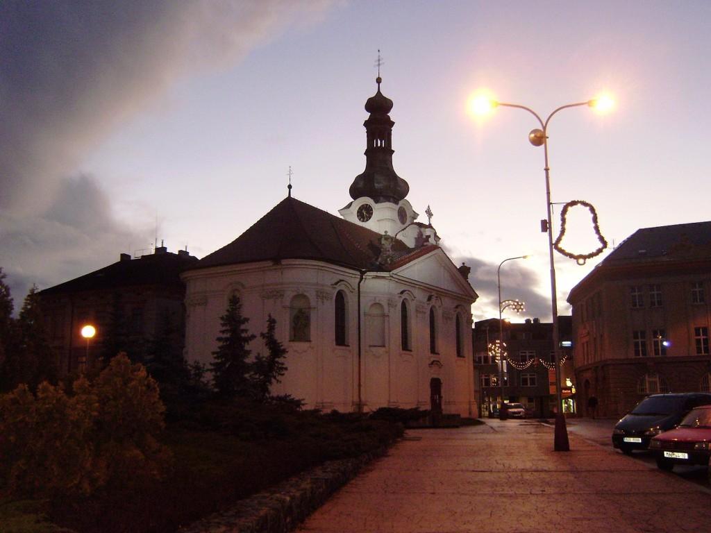 F - Mladá Boleslav - kostel svJana Nepomuckého