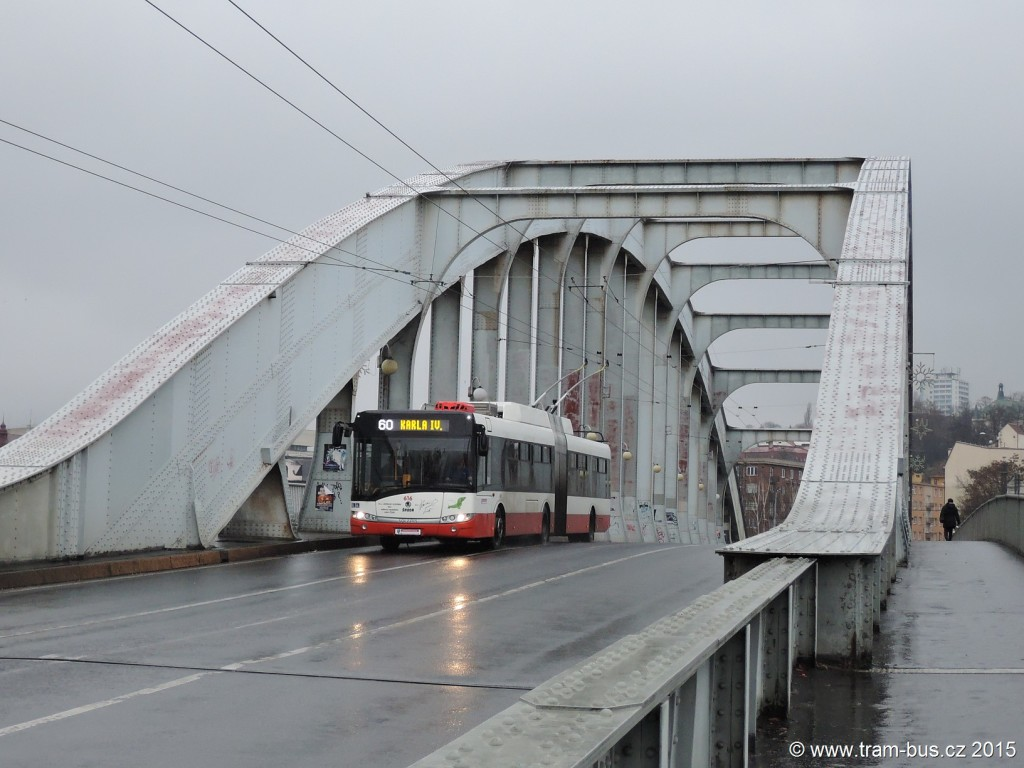 031 - linka 60 Ústí nad Labem,,Krajský úřad DP Ústí nad Labem Škoda 27Tr 616