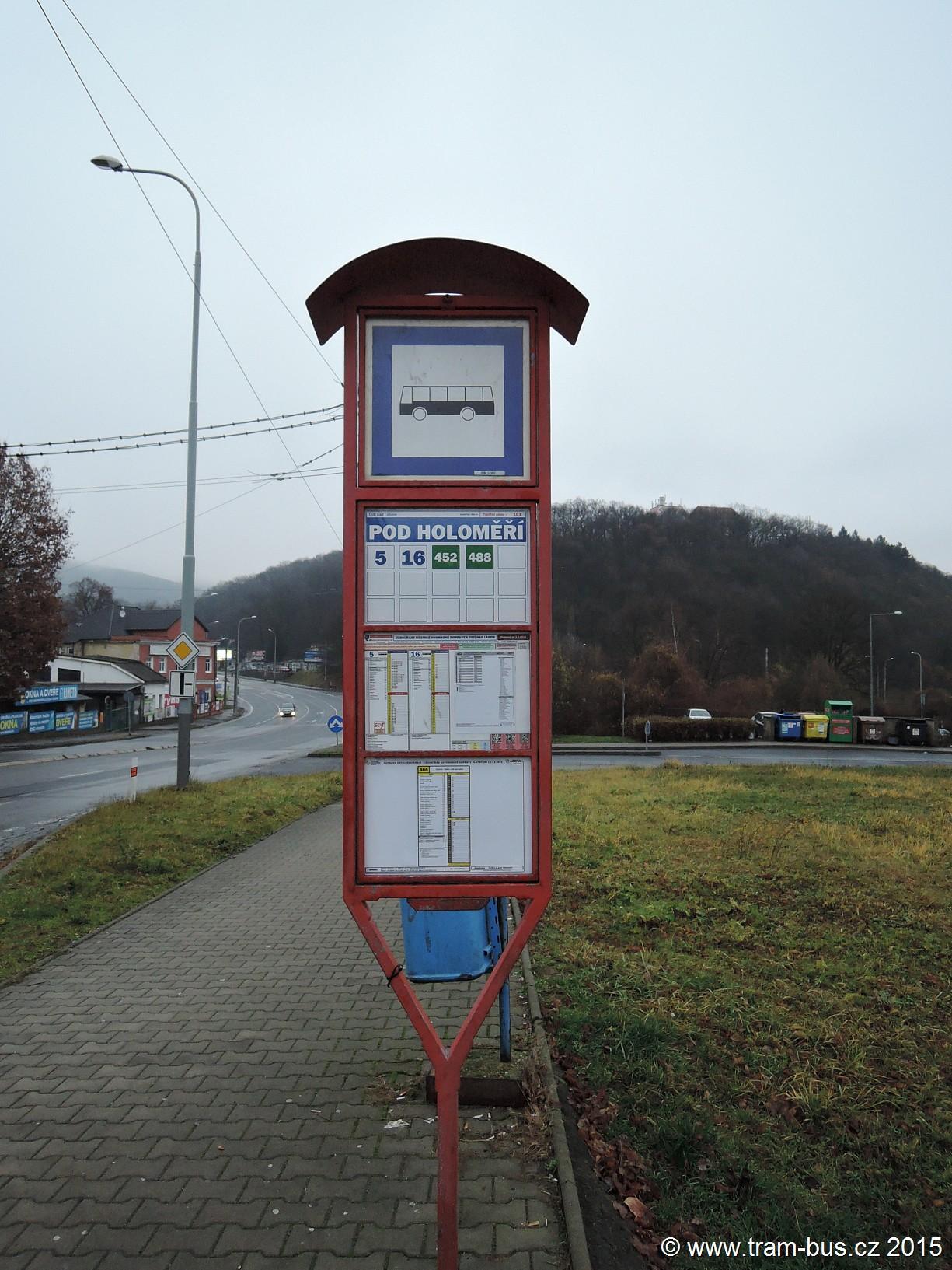 056 - zastávka Pod Holoměří
