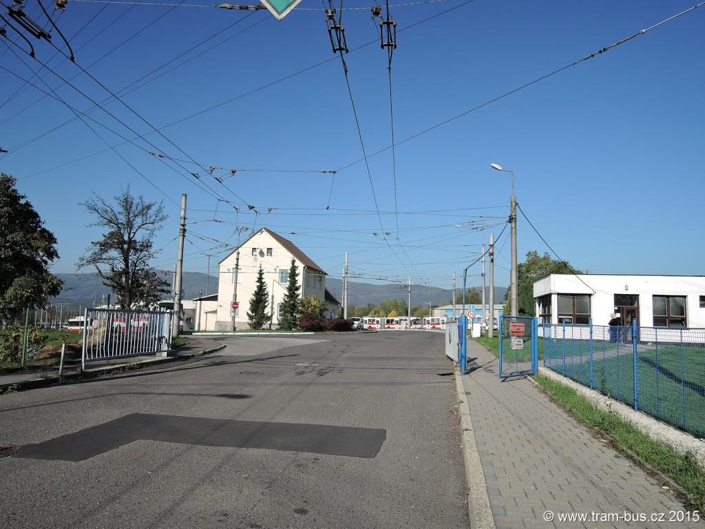 097 - vozovna DP Ústí nad Labem