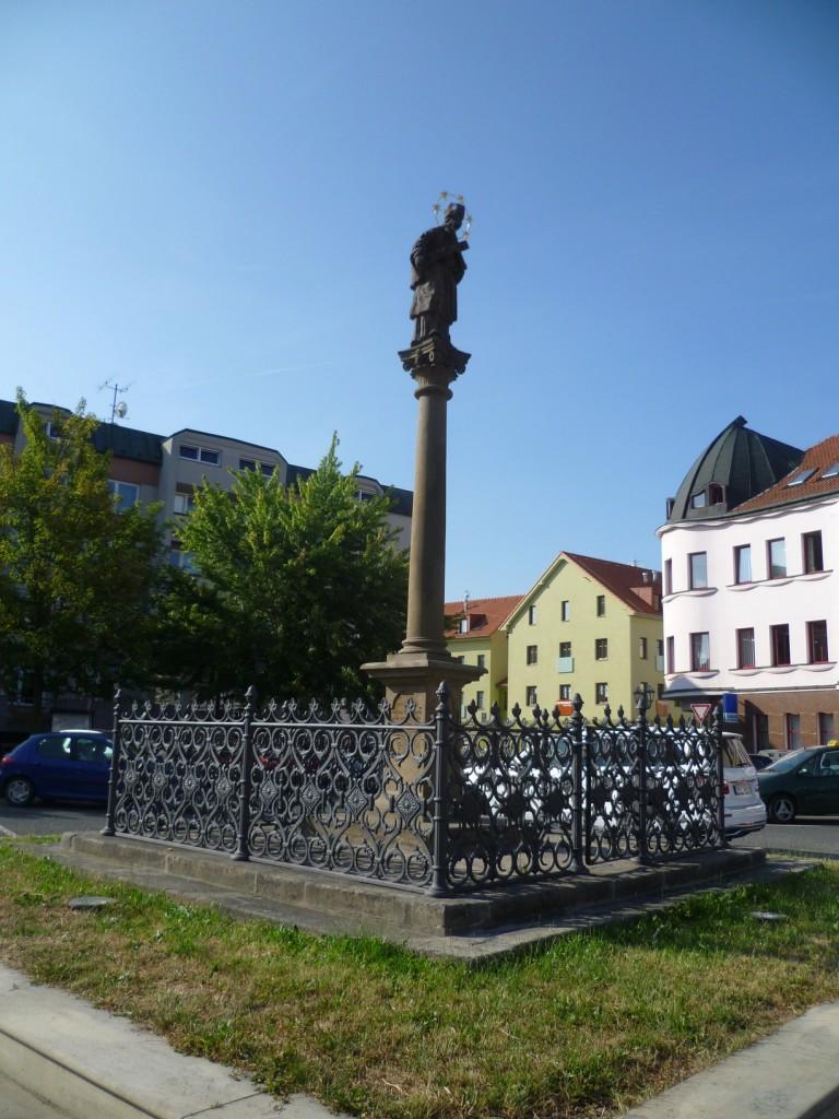 015 - socha sv. J. Nepomuckého Rokycany