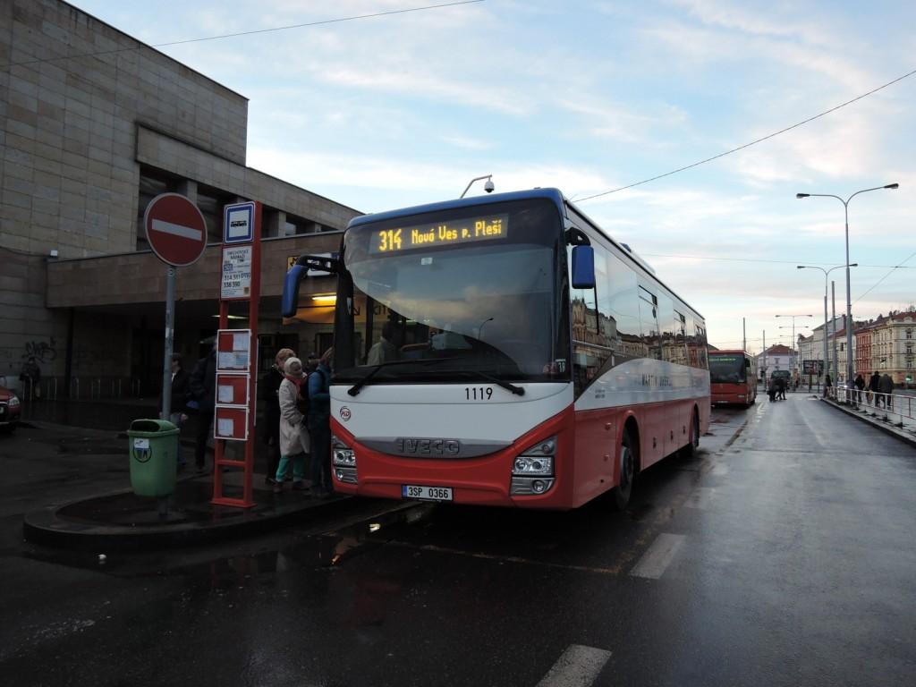5401 - linka 314 Smíchovské nádraží Martin Uher Iveco Crossway LE LINE 12M 1119