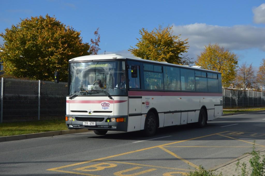 3S8 4785 - linka 16 Billundská ČSAD MHD Kladno Karosa B952E