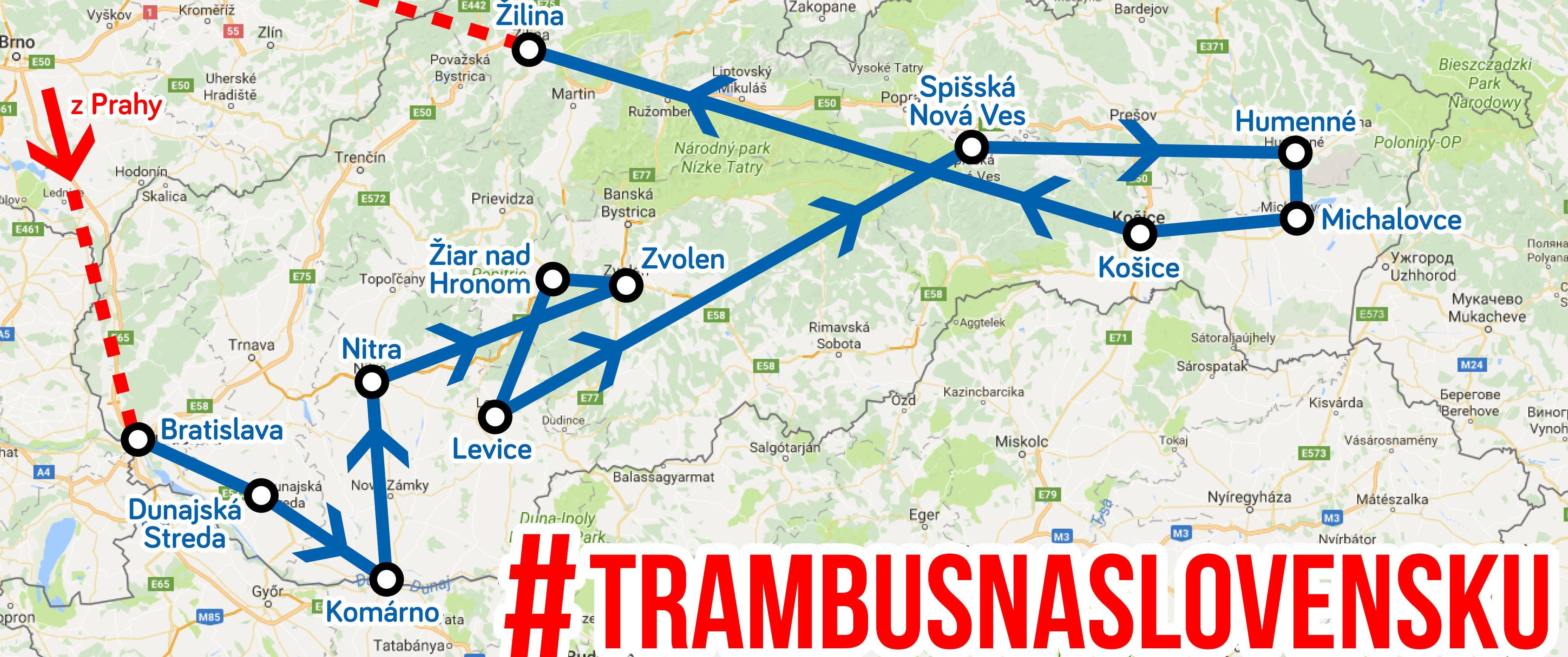 TramBus na Slovensku 2017