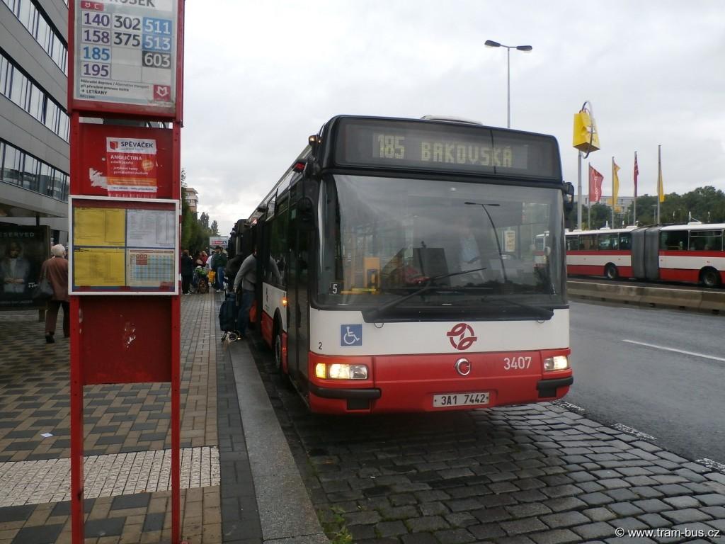 linka 185 Citybus 12M Prosek 2014