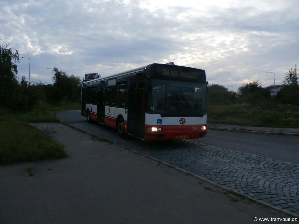 linka 164 Citybus 12M Bavorská 2014