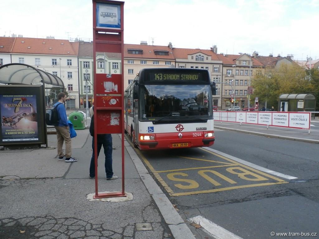 linka 143 Citybus 12M Malovanka 2014