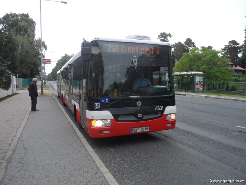 linka 261 SOR NB 18 Klánovice 2014