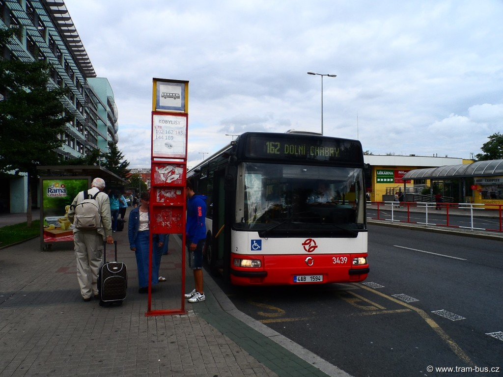 Linka 162 Citybus 12M Kobylisy 2014