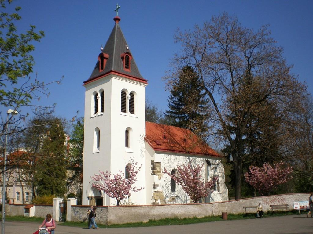 Záběhlice - kostel Narození Panny Marie