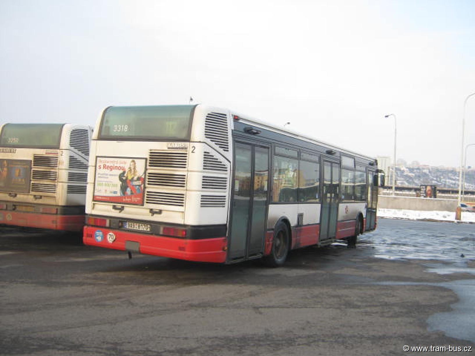 linka 112 Citybus Nádraží Holešovice 2013