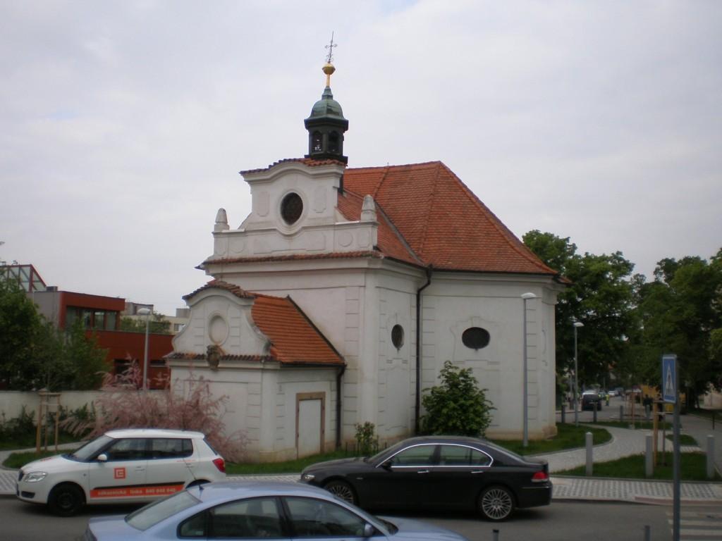 Michle - kostel Narození Panny Marie