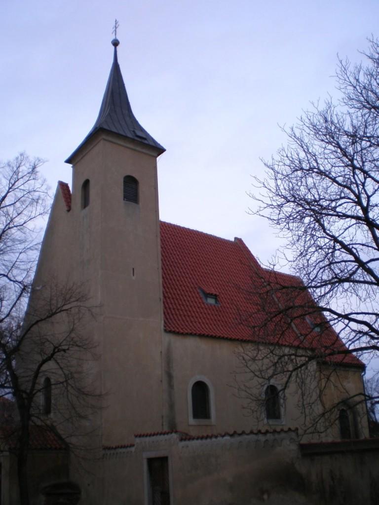 148 - Slivenec - kostel Všech svatých