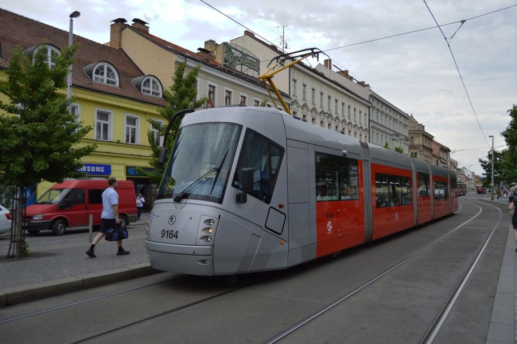 9164 - linka 7 Anděl DPP Škoda 14T
