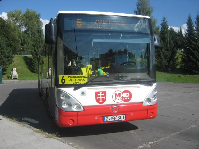 Irisbus Citelis 12M CNG na lince 6