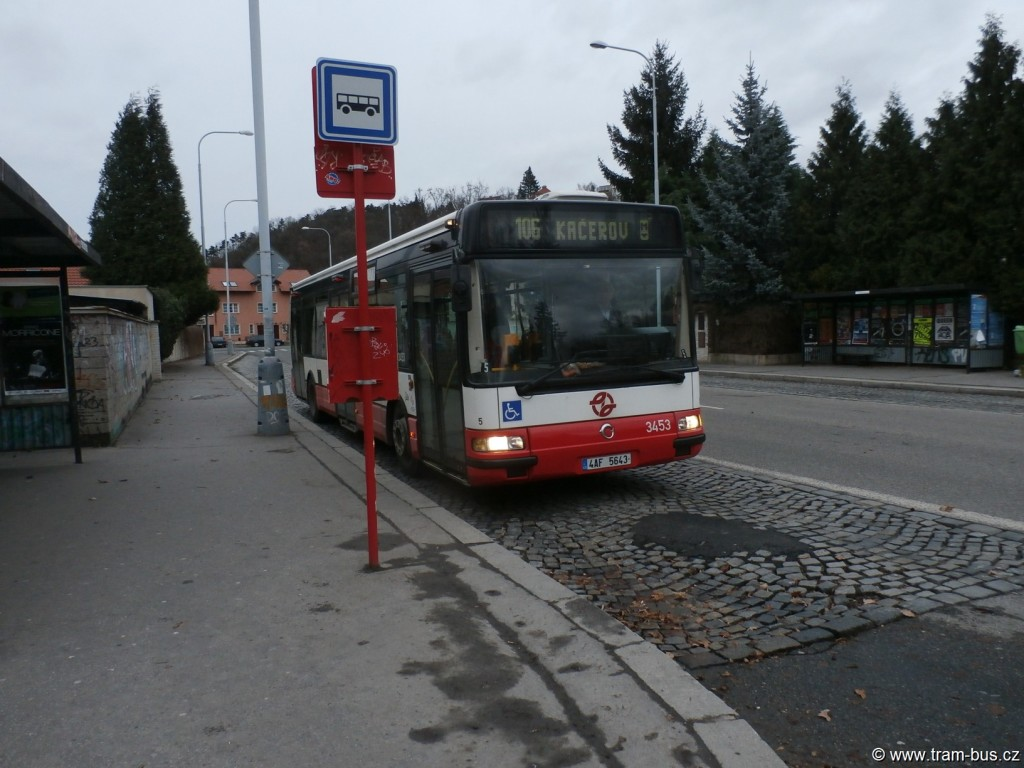 linka 121 Citybus 12M Černý kůň 2015