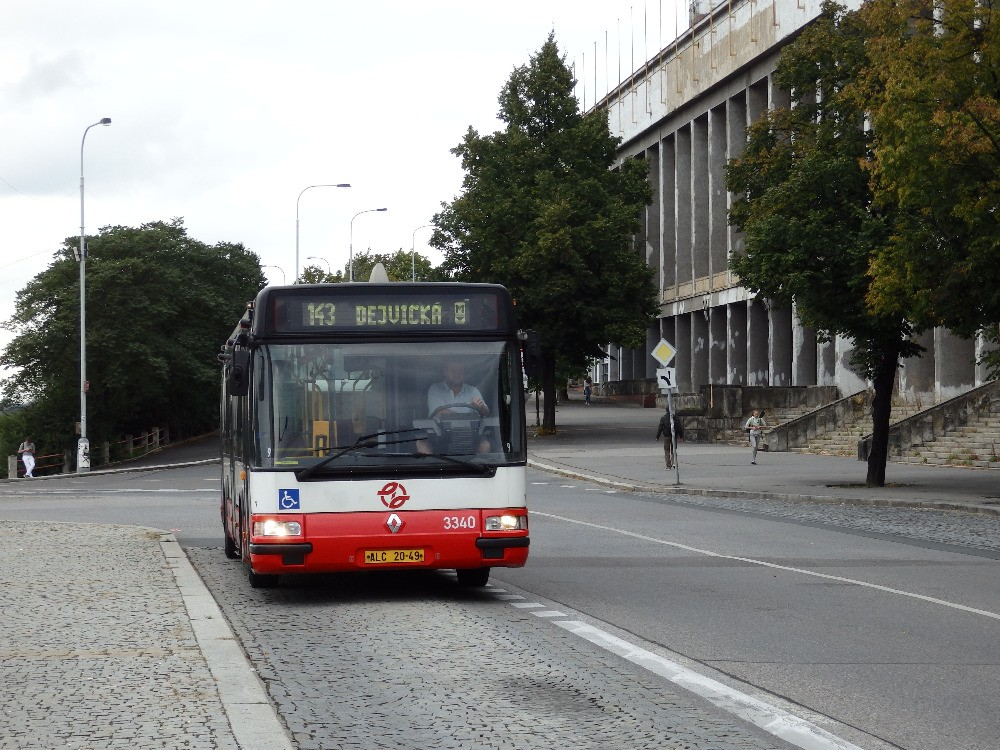 linka 143 Stadion Strahov DPP Irisbus Citybus 12M 3340
