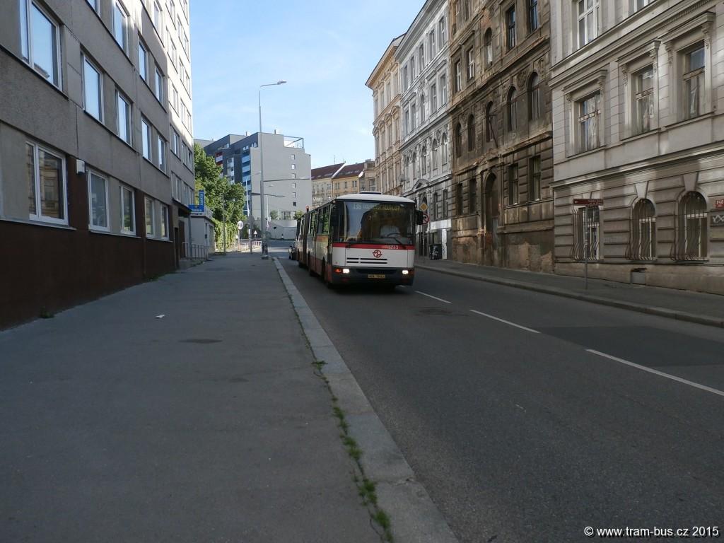 3833 - linka 136 Rokycanova DPP Karosa B 941 6263
