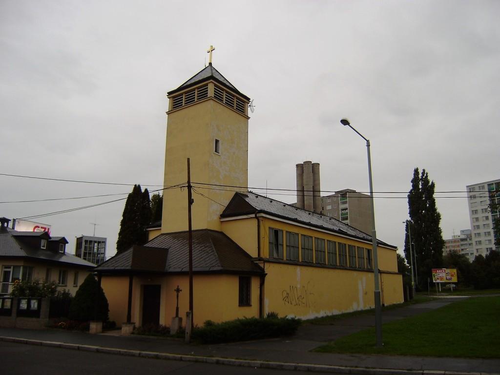 b35 - Chodov - kostel svFrantiška z Assisi