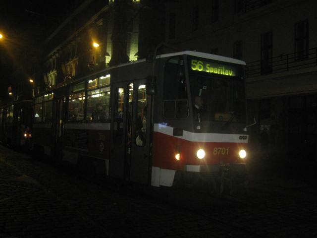 linka 56 na Lazarské