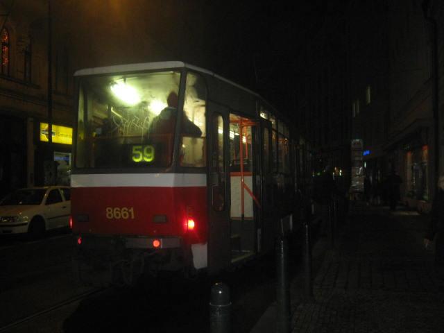 linka 59 na Lazarské