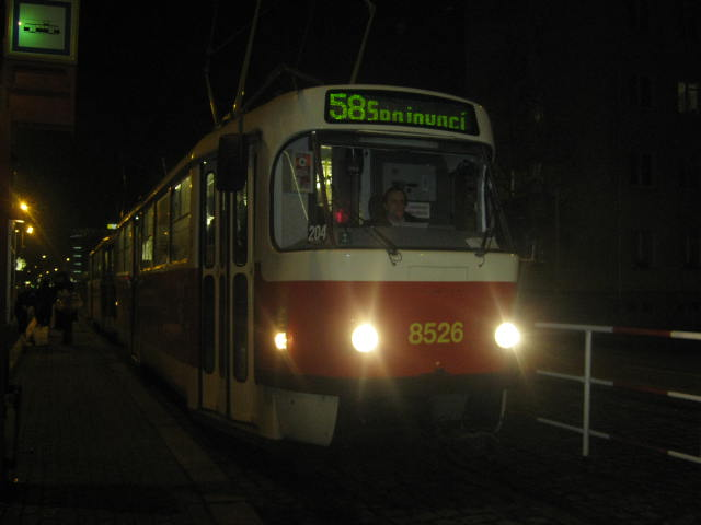 linka 58 na Ohradě