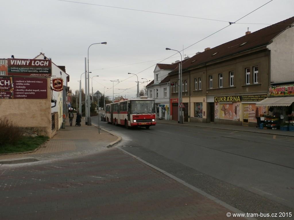 3707 - linka 152 Březiněveská DPP Karosa B 741 6117