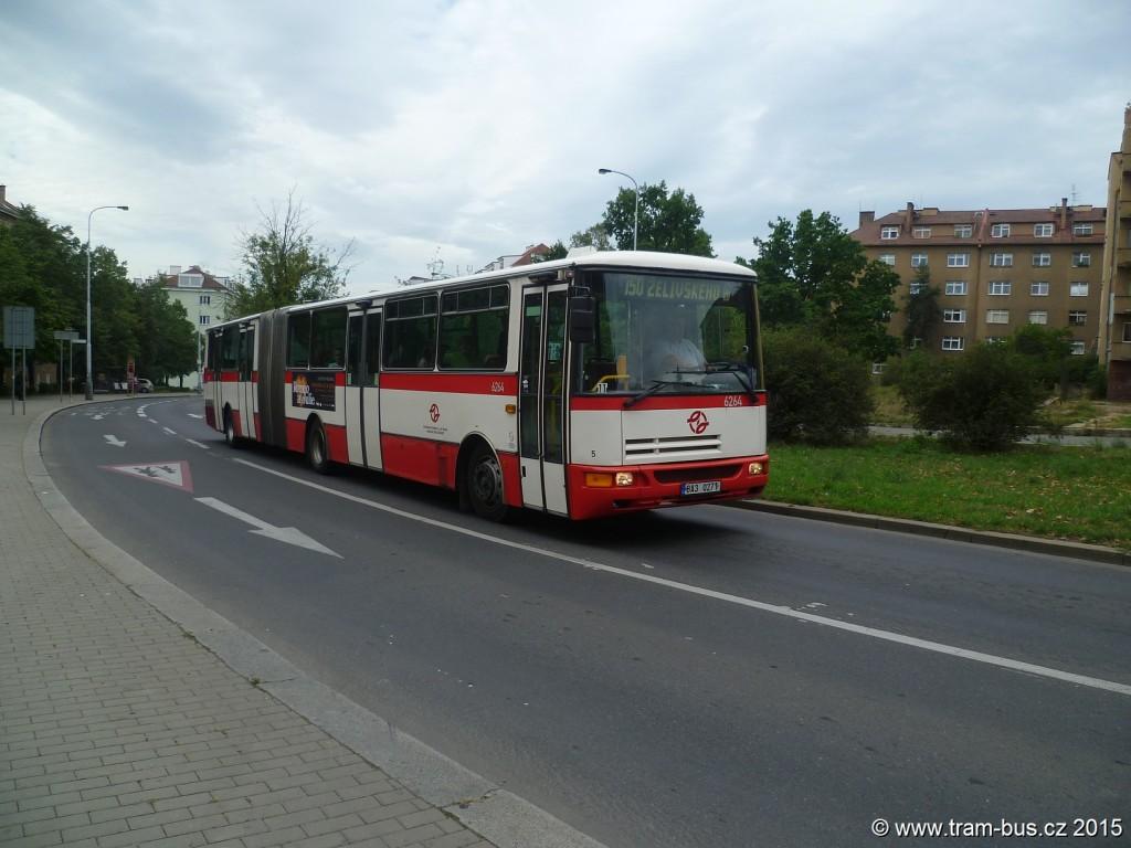 4228 - linka 150 Bělocerkevská DPP Karosa B 941 6264