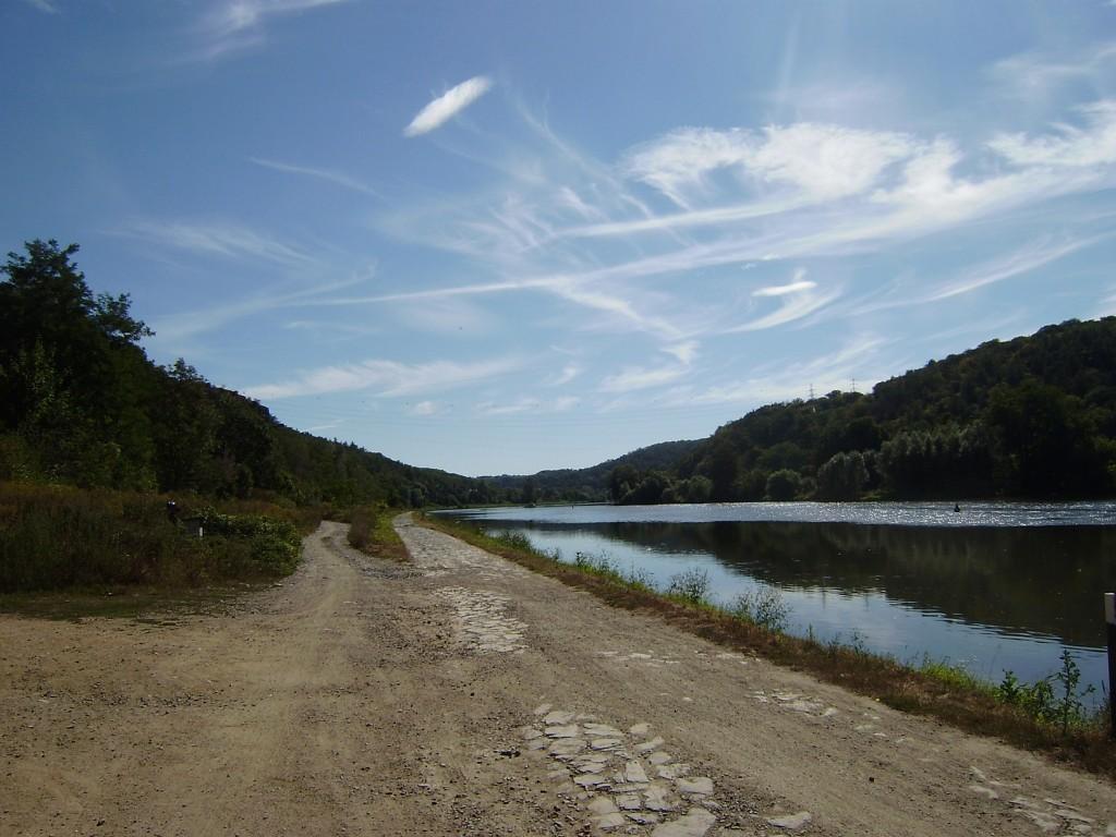 c68 - údolí Vltavy u ústí Drahanského potoka