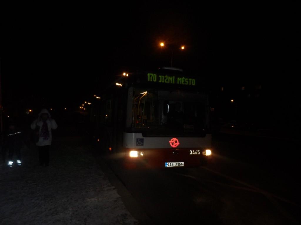 1607 - linka 170 Pražská čtvrť DPP Irisbus Citybus 12M 3445