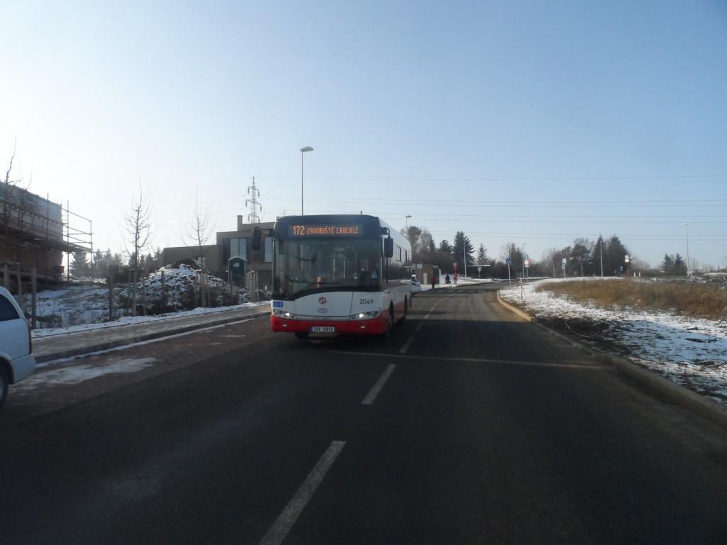 1608 - linka 172 Na Hvězdárně DPP Solaris Urbino LE 8.9 2049