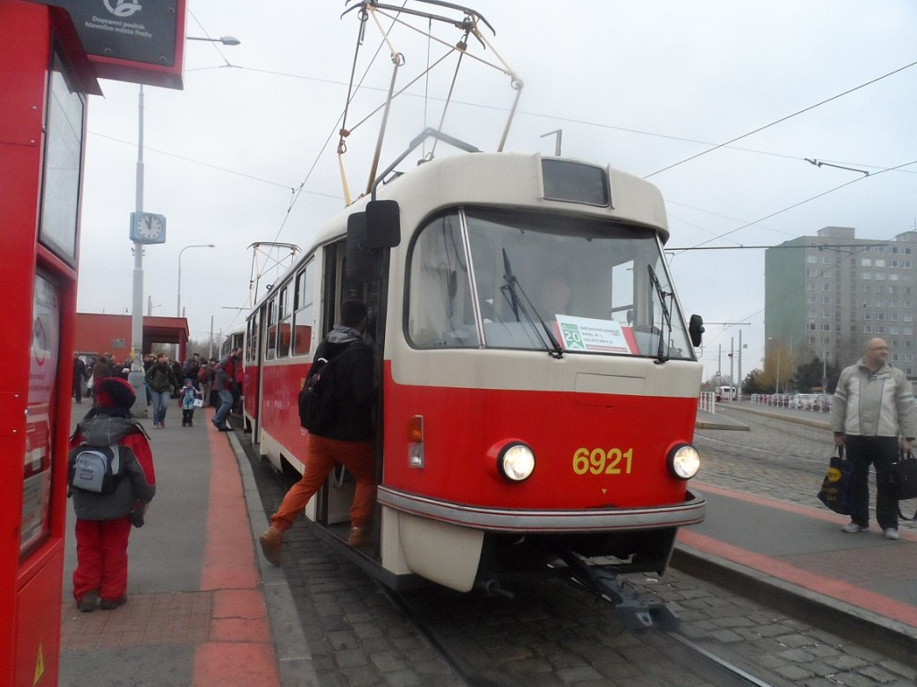 historický vůz T3 v Řepích