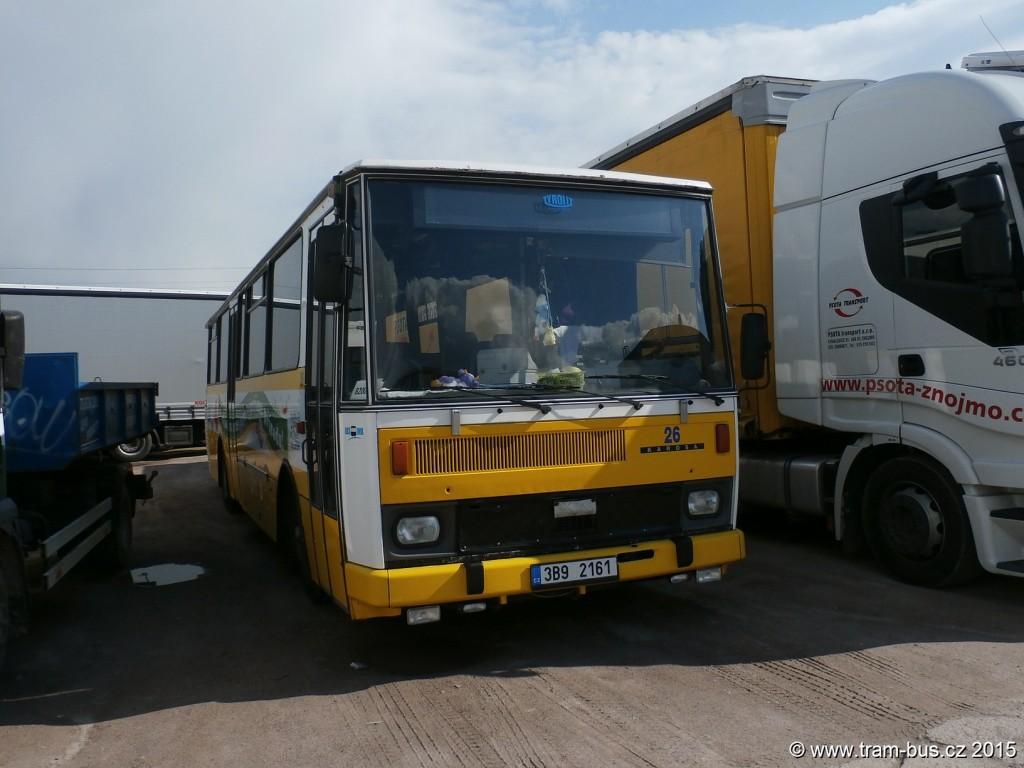 040 - garáže ZDS Psota Karosa B 732 3B9 2161 26