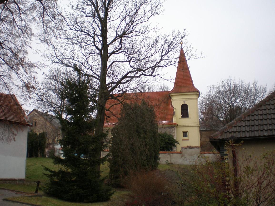 Petrovice - kostel svJakuba Většího