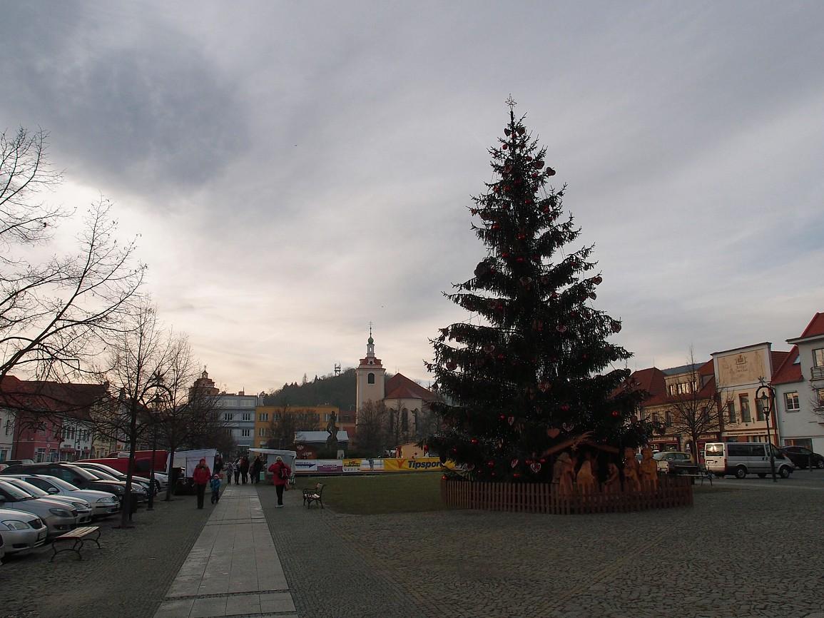 Beroun - Husovo náměstí