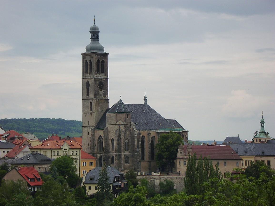 Kutná Hora - kostel svJakuba