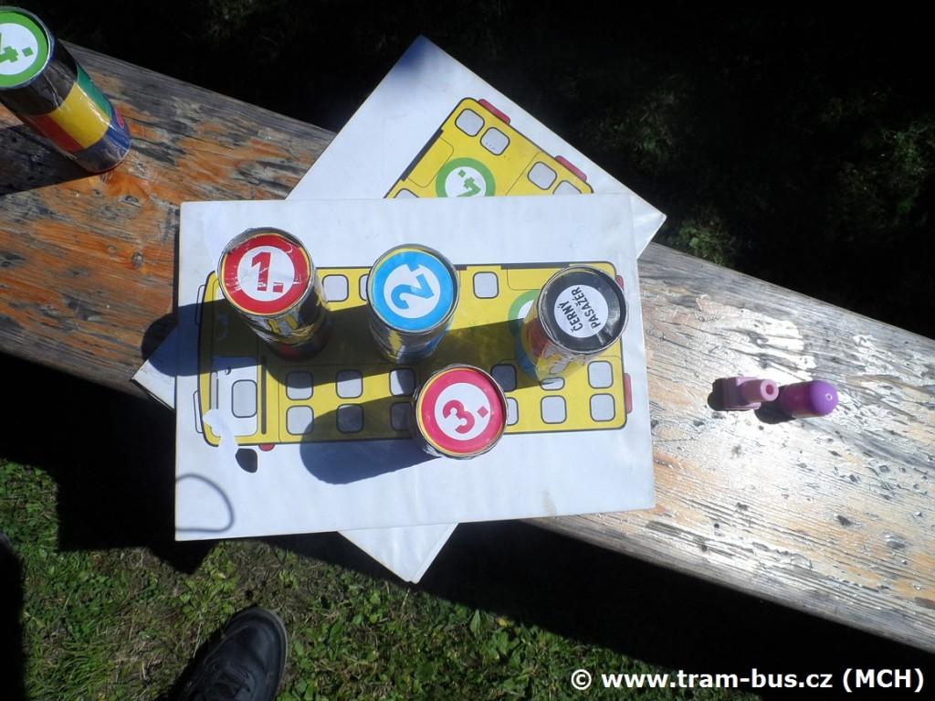 Slalom s autobusem - úkol 6