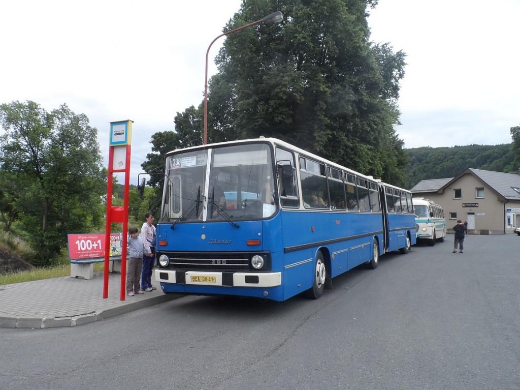 Ikarus 260 ve Štěchovicích
