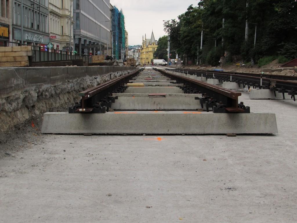 Oprava TT na Karlově náměstí