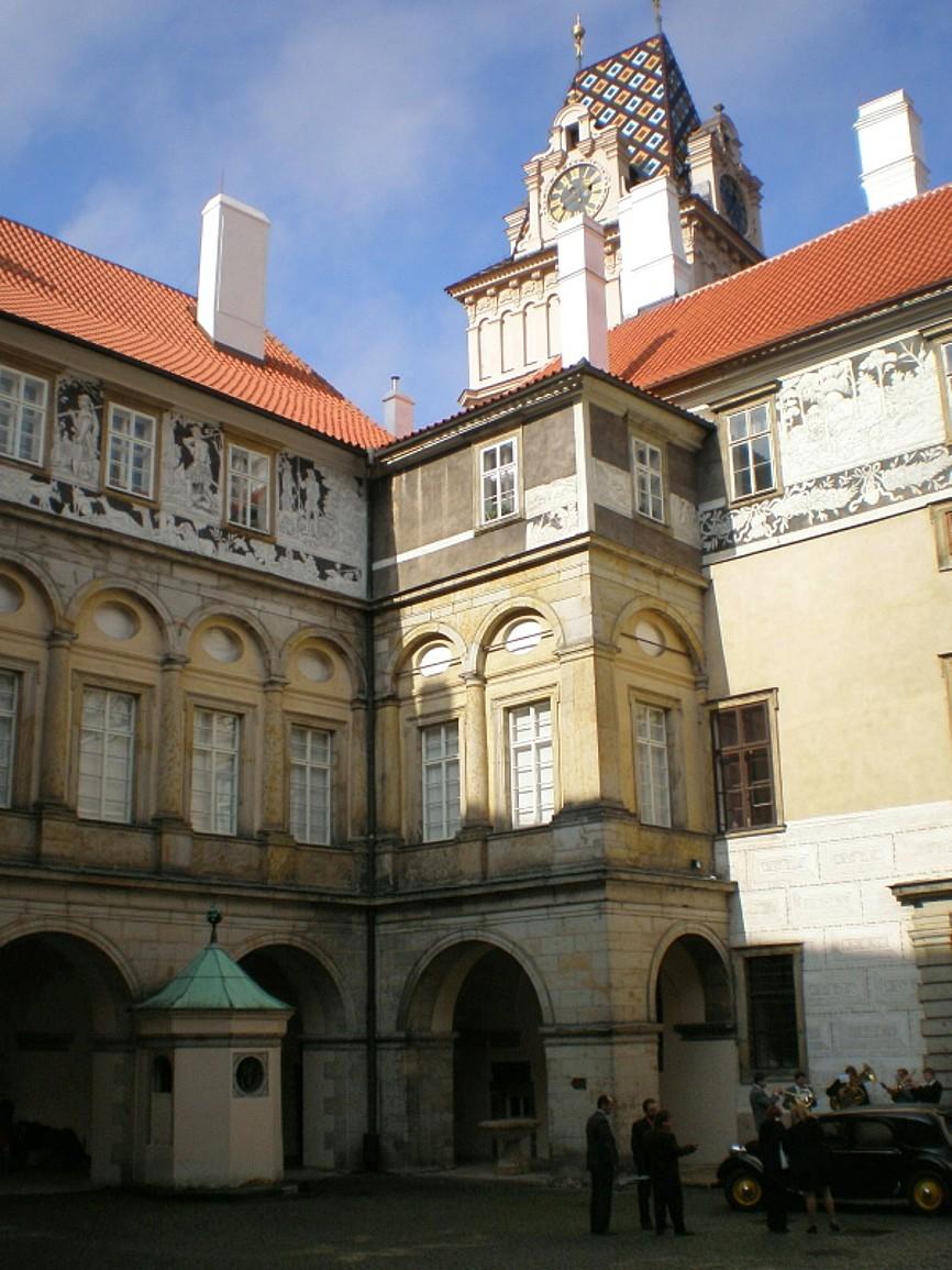 Brandýs nad Labem - zámek